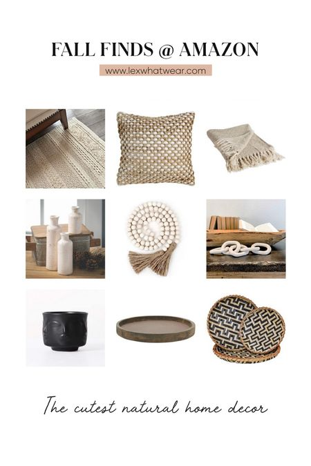 Fall Home Decor Finds At Amazon   #LTKhome