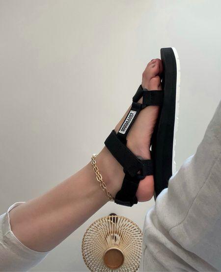 Trekking Sandals - Comfy Summer Shoes 🖤  #LTKshoecrush #LTKstyletip #LTKeurope
