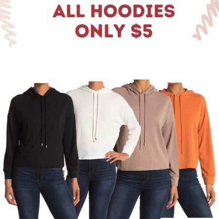 Hoodies only  $5 Gorgeous fall & wardrobe staple colors.   #LTKunder100 #LTKsalealert #LTKunder50
