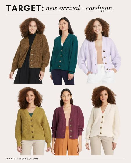 target looks - new arrival for fall, these cozy buttoned cardigan perfect for fall outfits, back to school style, teacher outfits   #LTKstyletip #LTKunder50 #LTKSeasonal