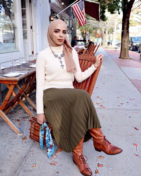 Midi skirts & dresses paired with tall boots is my JAM this fall season. http://liketk.it/2ti8g #liketkit @liketoknow.it Follow me in the LIKEtoKNOW.it app to shop this look #LTKholidaystyle #LTKitbag #LTKsalealert #LTKshoecrush #LTKunder50 #LTKunder100 #LTKstyletip