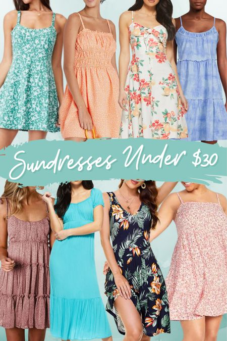 Sundresses, summer, dress, beach, vacation, party, church, tropical, floral, patterned, tiered, affordable, under $30, Walmart, Amazon, target, cotton on, old navy, trend http://liketk.it/3k5Lg #liketkit @liketoknow.it #LTKunder50 #LTKstyletip #LTKtravel Screenshot this pic to get shoppable product details with the LIKEtoKNOW.it shopping app