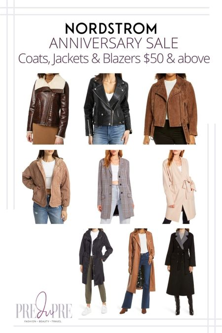 Great finds at the Nordstrom Anniversary Sale. I've rounded up my top picks in coats, jackets, & blazers above $50.  My NSale 2021 fashion favorites, Nordstrom Anniversary Sale, Nordstrom Anniversary Sale 2021, 2021 Nordstrom Anniversary Sale, NSale,  N Sale, N Sale 2021, 2021 N Sale,  NSale Top Picks,  NSale Beauty,  NSale Fashion Finds,  NSale Finds,  NSale Picks,  NSale 2021,  NSale 2021 preview, #NSale, #NSalefashion, #NSale2021, #2021NSale, #NSaleTopPicks, #NSalesfalloutfits, #NSalebooties,  #NSalesweater, #NSalefalllookbook, #Nsalestyle #Nsalefallfashion, Nordstrom anniversary sale picks, Nordstrom anniversary sale 2021 picks, Nordstrom anniversary Top Picks, Nordstrom anniversary, fall outfits, fall lookbook, fall outfit inspo, what to wear for fall   http://liketk.it/3jNfS          jacket blazer leather jacket long coat summer outfit fall outfit great finds #liketkit @liketoknow.it   Download the LIKEtoKNOW.it shopping app to shop this pic via screenshot  #LTKstyletip #LTKSeasonal #LTKsalealert