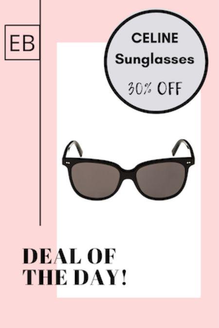 Celine sunglasses on sale! http://liketk.it/3ee03 #liketkit @liketoknow.it #LTKsalealert #LTKworkwear #LTKstyletip Shop your screenshot of this pic with the LIKEtoKNOW.it shopping app