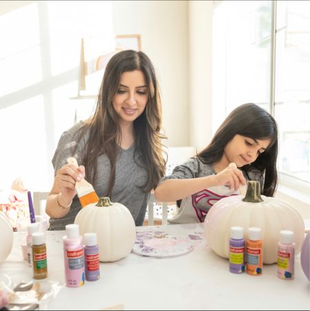 Is it too early to start painting pumpkins? I think not! Here's a new family tradition in the making!!  #LTKHoliday #LTKfamily #LTKkids