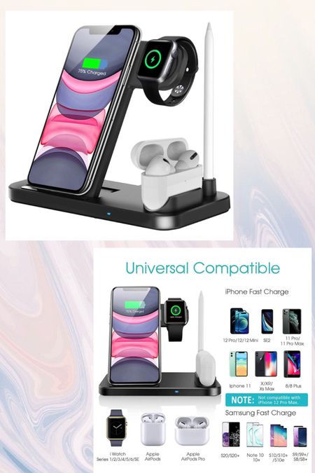 4 in 1 charging station for smart devices! Compatable with Apple and android products! Perfect gift for the holidays  http://liketk.it/331iE #liketkit @liketoknow.it #LTKgiftspo #LTKunder50 #LTKhome