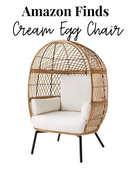 Patio Furniture  Amazon finds Egg chair  http://liketk.it/3goDx #liketkit @liketoknow.it #LTKhome #LTKsalealert