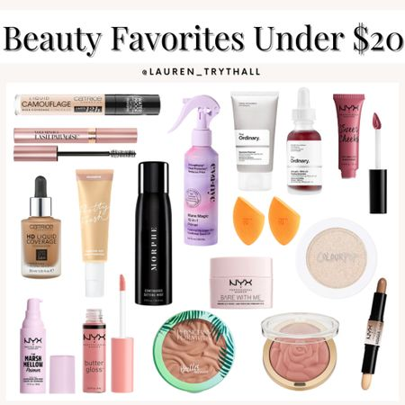sharing some of my favorite beauty finds under $20! these products are amazing & a must try  #LTKbeauty #LTKunder50