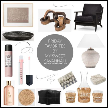 Happy Friday, and welcome to another edition of Friday favorites! This is the day I share my favorite finds of the week. This week we have a beautiful lamp, gorgeous accent chair, the BEST makeup primer and setting spray, my new favorite lip gloss and more! Cheers to the weekend my friends! http://liketk.it/3hSMp #liketkit @liketoknow.it
