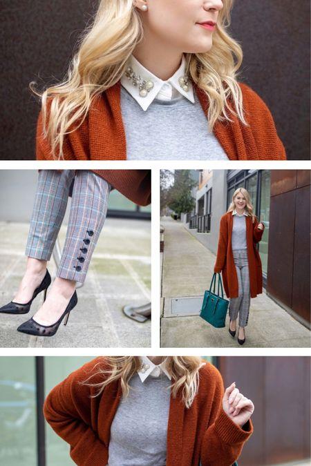 Work Wear, plaid pants, Amazon finds, Amazon fashion @liketoknow.it http://liketk.it/3bEjc #liketkit #LTKunder100 #LTKworkwear #LTKstyletip