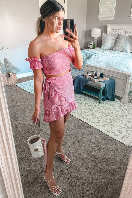 Fun two piece set from amazon. Can be dressed up or down Grabbed my true size of a small in the set Shoes are TTS  http://liketk.it/3hJ0H #liketkit @liketoknow.it #LTKsalealert #LTKshoecrush #LTKstyletip