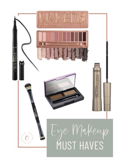 These are my eye makeup must haves!   #LTKunder100 #LTKbeauty #LTKunder50