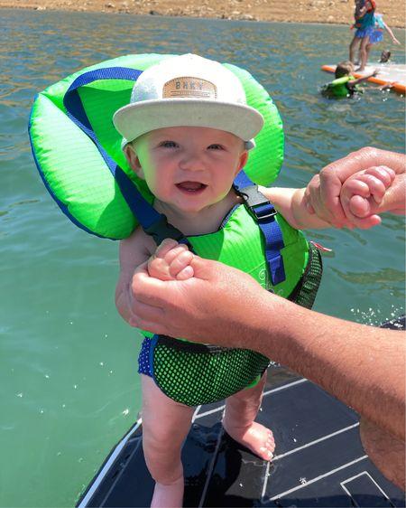 http://liketk.it/3gGD4 #liketkit @liketoknow.it This baby life jacket is perfect for Kamp on the boat 🚣♂️ #LTKbaby #summeractivities #summerfun #lifejacket