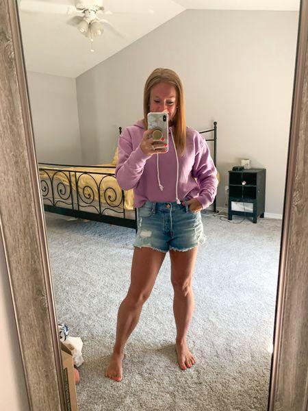 Affordable shorts from Walmart. Fit TTS (I'm wearing a 3)  #LTKunder100 #LTKunder50 #LTKSeasonal