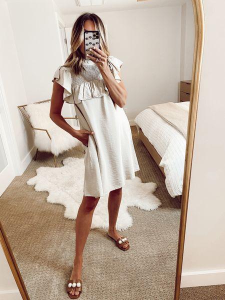 target dress, summer dress, sandals  #LTKunder50 #LTKstyletip