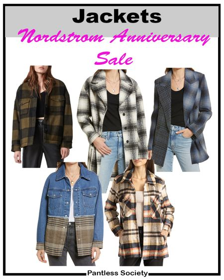 Nordstrom Anniversary Sale. Fall jackets. Fall outfits. Shop the sale. NSale. #NSale NSale 2021. Nordstrom sale. Jackets. Plaid. Plaid jackets.   #LTKsalealert #LTKstyletip #LTKtravel