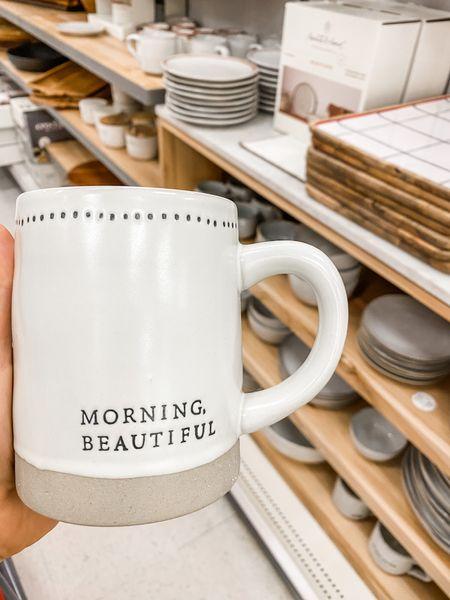 Target coffee mug with hearth & hand   #LTKhome #LTKbeauty #StayHomeWithLTK