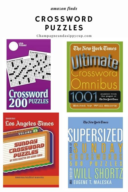 the best CROSSWORD PUZZLES   #LTKhome