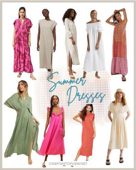 - summer dress, maxi dress, midi dress, summer outfit, white dress, plus size fashion, vacation outfits, travel outfits  http://liketk.it/3iauD #liketkit @liketoknow.it   #LTKcurves #LTKunder50 #LTKunder100