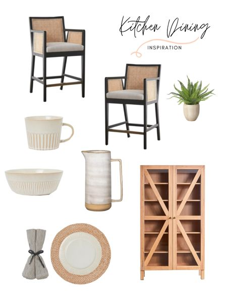 I'm currently into hutches and I'm loving this neutral and organic, yet modern hutch! And how about those beautiful dining chairs?! Makes me want to redo everything in my kitchen. Shop this kitchen and dining decor and furniture! http://liketk.it/3jngU #liketkit @liketoknow.it @liketoknow.it.home @liketoknow.it.family #LTKstyletip #LTKhome #LTKfamily