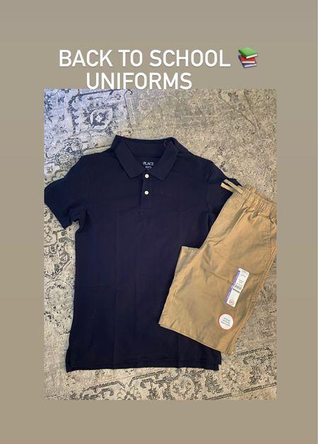 Back to school, boy uniforms, school uniforms, Walmart finds, Walmart kids, Children's Place  #LTKkids #LTKunder50 #LTKstyletip