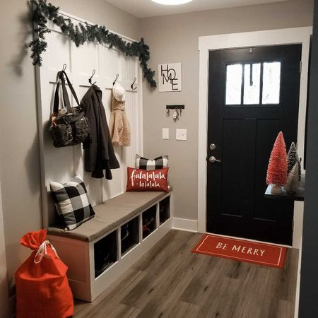 Decorated our entryway for Christmas 🎄  #LTKhome #StayHomeWithLTK