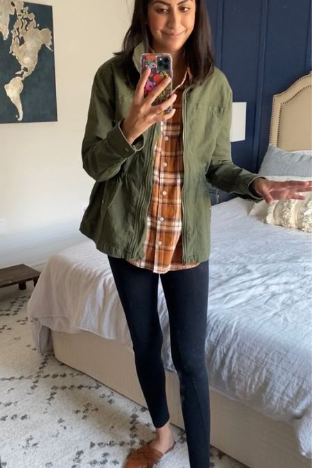 This green utility jacket is on major sale and stocked in all sizes! So so good!   http://liketk.it/2XMnC @liketoknow.it #liketkit
