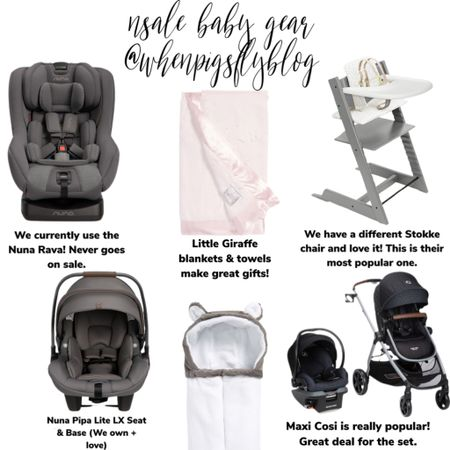 Shop your screenshot of this pic with the LIKEtoKNOW.it shopping app http://liketk.it/3jWYV @liketoknow.it #liketkit #LTKfamily #LTKbump #LTKkids Nordstrom sale, Nordstrom anniversary sale, baby gear, stroller, car seat, Nuna Pipa lite, Nuna Rava, maxi cosi, stokke high chair, stokke trip trapp, high chair, baby blanket, baby towel, hooded towel