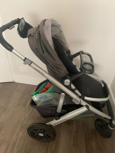 I love my Vista stroller. The storage basket is everything. On sale now at the Nordstrom Sale. Nordstrom Anniversary Sale. Best mom item to invest in. It's the SUV of strollers, but a dream to handle. It is convertible into a two seater and and is compatible with car seats and bassinets.   #LTKsalealert #LTKbaby #LTKbump