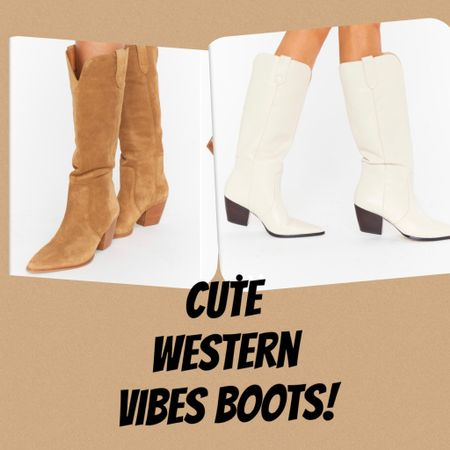Always sharing my finds- 2 western cowboy vibes boots for Fall! Love both so much  #LTKstyletip #LTKshoecrush