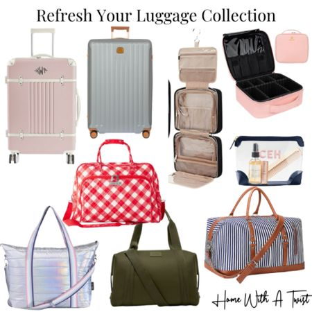 Refresh your luggage collection for all the upcoming trips on your calendar. http://liketk.it/3iGGz #liketkit @liketoknow.it #LTKfamily #LTKtravel #LTKitbag
