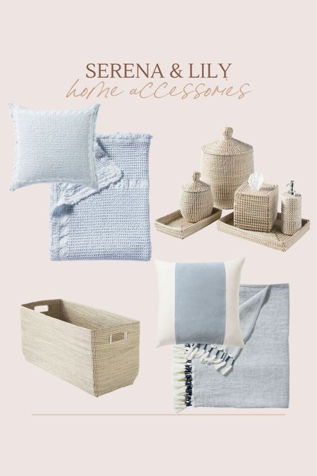 Serena & Lily home accessory must haves!!  #LTKhome