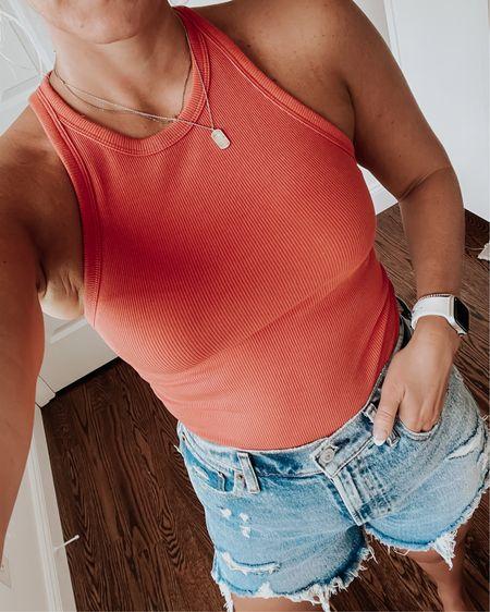 Abercrombie bodysuits on sale, Abercrombie shorts, jean shorts @liketoknow.it http://liketk.it/3iTmb #liketkit