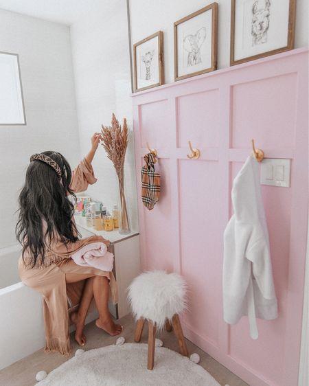 Nursery bathroom DIY decor board & batten jungle safari animal theme http://liketk.it/39KQd #liketkit @liketoknow.it #LTKbaby #LTKhome #LTKkids