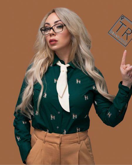 Professional wear with a little personality     http://liketk.it/38KRr #liketkit @liketoknow.it #LTKstyletip #LTKworkwear