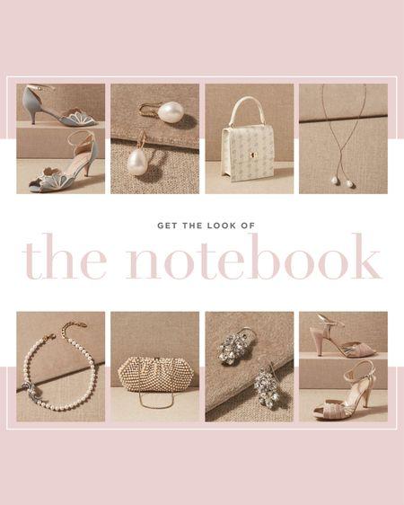 Get the look: The Notebook 💋  #LTKwedding #LTKstyletip #LTKshoecrush