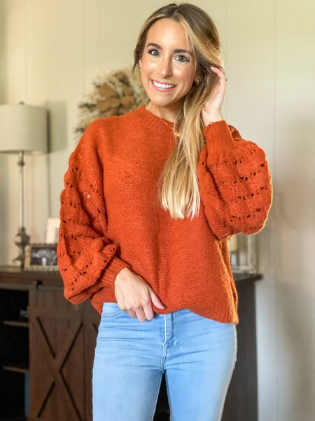The epitome of a perfect fall sweater 🙌🏼 super comfy and comes in other colors! Snag it for 25% now off when you shop through my LTK app!  #ltksale #ltkgifting #ltkfashion #ltkunder50 #ltksalealert #pinklilystyle #pinklily @pinklily #sweaterweather #sweater #pumpkinspice #pumpkin   #LTKsalealert #LTKSale #LTKGiftGuide
