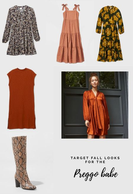 Target was my go-to for dresses when I had a baby bump. Here are some of my picks.   #LTKunder50 #LTKbump #LTKstyletip