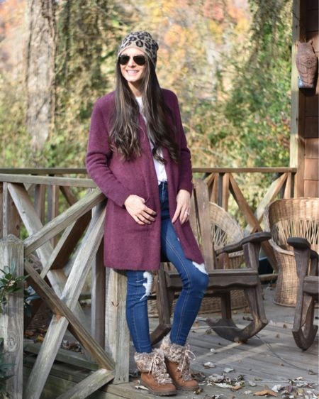 If you're looking for a cozy cardigan look no further than this $33.99 steal! It comes in 7 colors and is so incredibly soft! I ordered a small and think it fits pretty true to size! http://liketk.it/2HgHj @liketoknow.it #liketkit #LTKshoecrush #LTKunder50 #LTKtravel
