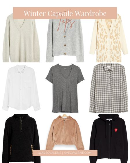 Winter is here! Stay warm and cozy with some of my top picks from Nordstrom. Some brands include Madewell, Treasure & Bond, and Topshop. Find your winter tops at Nordstrom now!  #LTKSeasonal #LTKstyletip #StayHomeWithLTK