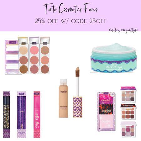 Tarte has 25% off w/ code 25OFF right now. Linked a few of my favorite items! Plus you'll get a free blush and mini mascara with a $60 purchase. @liketoknow.it #liketkit #LTKgiftspo #LTKbeauty #LTKsalealert #tarte #tartecosmetics #makeup #vegan #crueltyfree #mascara #blush #eyeshadowpalettes #moisturizer #shapetape #giftsforher #giftideas #stockingstuffers #sale http://liketk.it/349AW