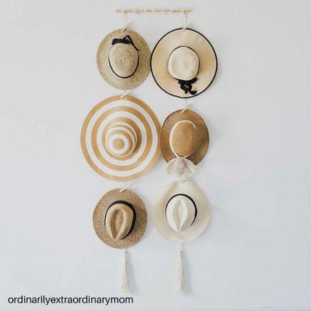Home decor:  Fedora hat organizer   #LTKstyletip #LTKunder100 #LTKhome