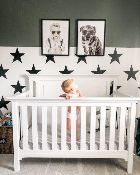 Mack's Star-Studded nursery ⭐️ ⭐️ ⭐️    http://liketk.it/38h7O #liketkit @liketoknow.it #LTKbaby #LTKhome @liketoknow.it.home #boynursery #nursery #starnursery #walldecals #stardecals #boyroom