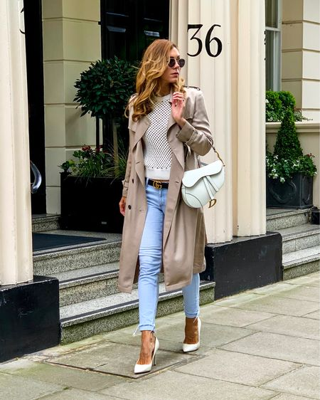 Summer trench coat with jeans 👖 @liketoknow.it.europe @liketoknow.it #liketkit http://liketk.it/2BA0T