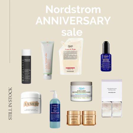 #nsale skincare still in stock Nordstrom anniversary sale, Nordstrom skincare, sale finds, Nordstrom sale, beauty, la mer cream, beauty pillow.   #LTKbeauty #LTKsalealert