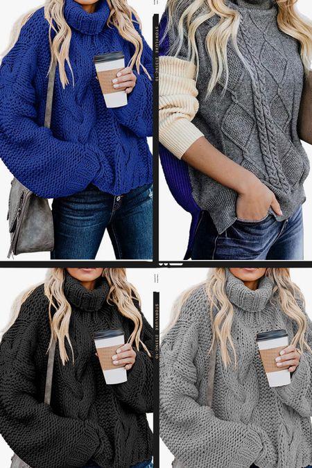 Amazon sweater, sweaters under $50, fall outfits, holiday sweater   #LTKSeasonal #LTKstyletip #LTKunder50
