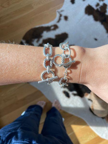 David yurman bracelet the styled collection look a like silver bracelet wrist candy    #LTKSale #LTKstyletip #LTKunder50