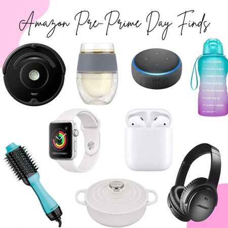 """Are you as excited as I am for #amazonprimeday tomorrow?!?! Yes, two days of some AMAZING savings and deals! Today, I am sharing some of my favorite """"pre-Prime Day"""" finds that I, totally, think should be some must have purchases! Hey, you can get a head start on your #christmas shopping or just have a little #retailtherapy fun!  Download the LIKEtoKNOW.it shopping app to shop this pic via screenshot! http://liketk.it/3hZWF @liketoknow.it #liketkit #LTKsalealert"""