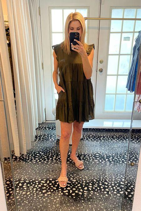 Love this color green! Wearing a size M.     #LTKunder100 #LTKstyletip #LTKshoecrush
