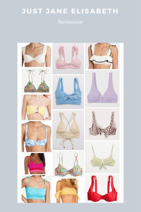 My favorite bikini tops for Summer! http://liketk.it/3fvQD #liketkit @liketoknow.it #swimwear #swim #bikinitops